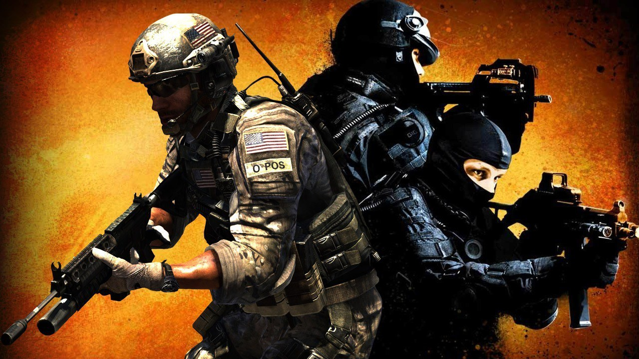 Counter-Strike press start to join multiplayer